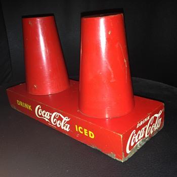 1950's Coca-Cola Cup Holder - Coca-Cola