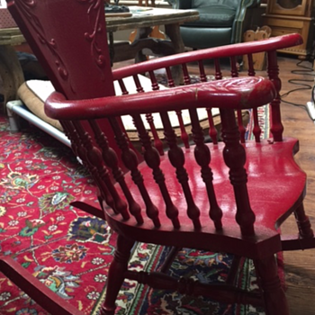 Old unidentified rocking chair - more pictures - Furniture