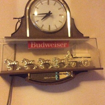 Budweiser clock - Advertising