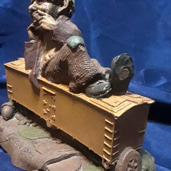 Tom Clark Woodspirits train series- Hobo  - Figurines
