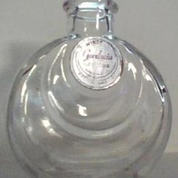 Vintage Cologne Bottle - Bottles