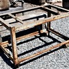 Large Iron Industrial Cart