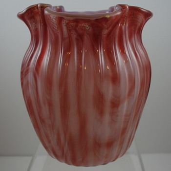Loetz Carneol, ca. 1890 - An Early Example - Art Glass