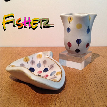 FISHER STUDIO c. 1955 - Pottery
