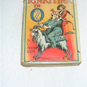 RinkiTink of OZ  by L. Frank Baum with Dust cover