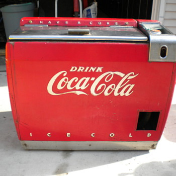 Westinghouse WE-6 wet Cooler to be restored - Coca-Cola