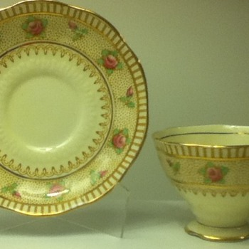1930s-1940s Royal Albert Cup and Saucer Set
