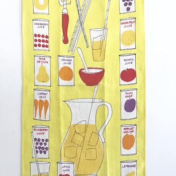 Vera Neumann Vintage Towel - Kitchen