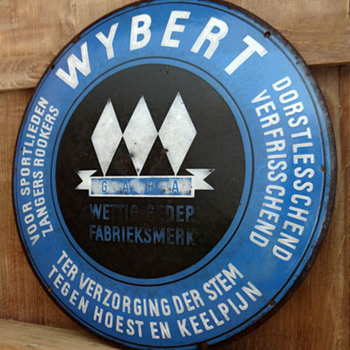 WYBERT Porcelain Sign