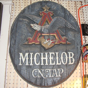 Michelob Beer Sign From the 1970's... - Breweriana