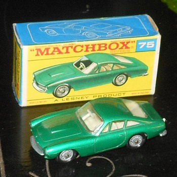 Matchbox #75B Ferrari Berlinetta - Model Cars