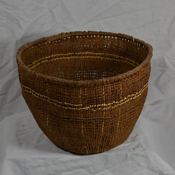 Another Unknown Native Basket - Native American