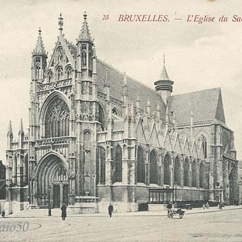 BRUXELLES - L'ÉGLISE du SABLON. - Postcards