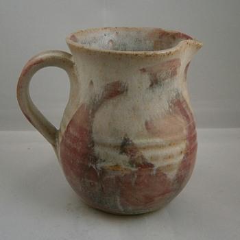studio stoneware jug mystery Mark?  - Pottery