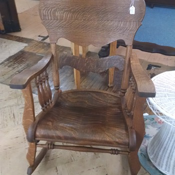 Wood Rocking Chair  - Furniture
