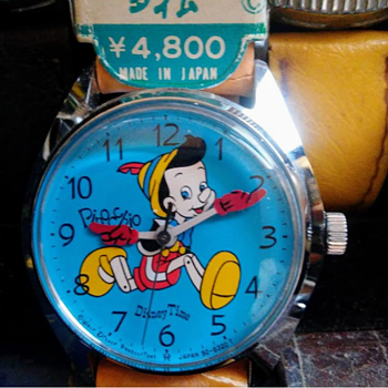 Pinocchio Watch - Wristwatches