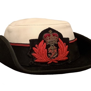 Queen Alexandra's Royal Naval Nursing Service tricorne hat. - Military and Wartime
