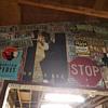 My License Plate Collection & Garage Art