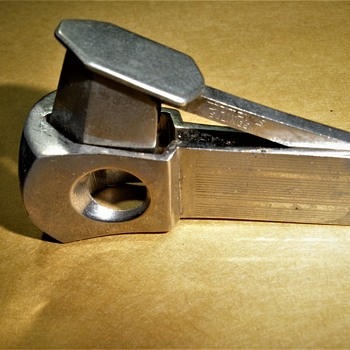 another cigar tool, this one is to nip off the end of a cigar - Tobacciana