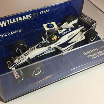 Minichamps Williams FW22 2001 Ralf Schumacher 1/43 - Model Cars