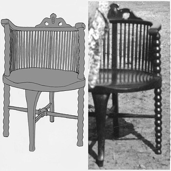 Is this a Windsor chair? - Furniture