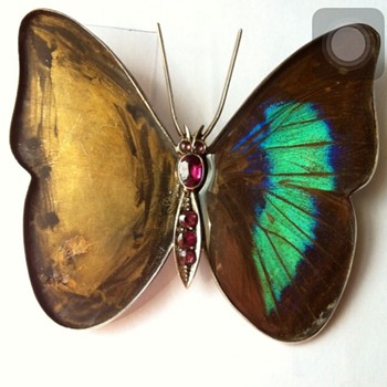Butterfly wings brooch kyratisation ! Part #1 - Fine Jewelry
