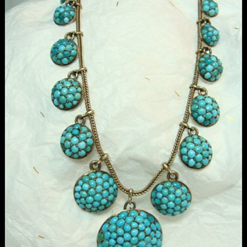 Victorian Pave Necklace
