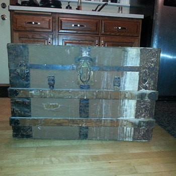 Wooden Chest On side Of Road - Furniture