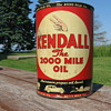 Kendall 5 Qt oil can 1940