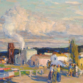 "E. Charlton Fortune, ""Late Afternoon, Monterey,"" 1920."