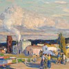 """E. Charlton Fortune, """"Late Afternoon, Monterey,"""" 1920."""