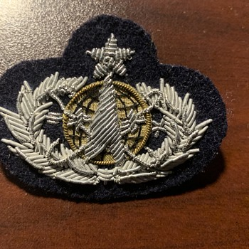 Vintage Military Cloth Badge and St Peter's insignia's - Military and Wartime