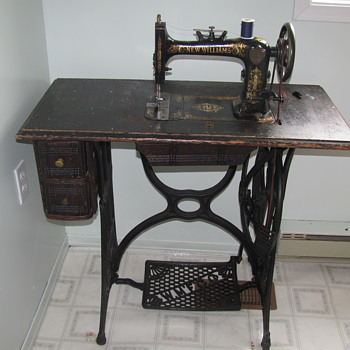 My moms favourite sewing machine