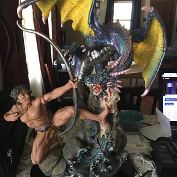 De Capoli Statue - Asian