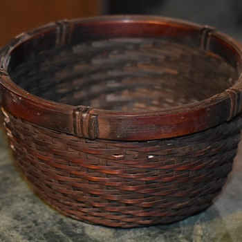 Small Basket - Old - Furniture