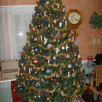 LAST YEARS CHRISTMAS TREE - Christmas