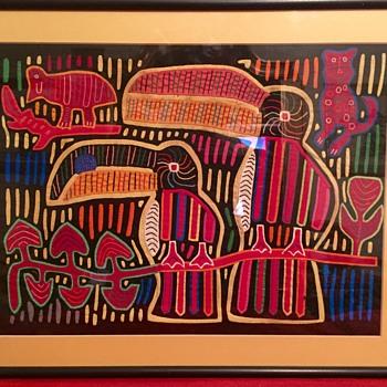 Mola from Panama - Folk Art