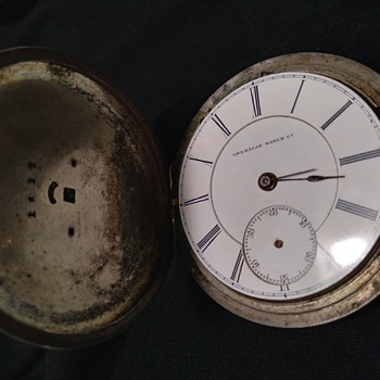 Model 1859 American Watch Co.Serial #40119 one of America's Rarest, As Is... - Pocket Watches