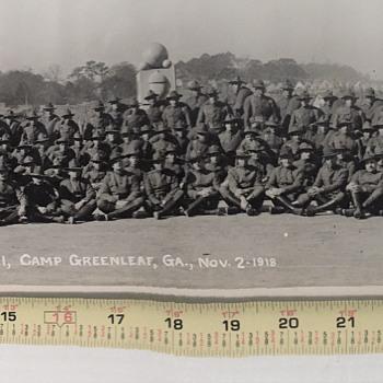 Evacuation Hospital No. 41 Camp GreenLeaf, Ga Nov. 2nd  1918  panoramic photograph - Military and Wartime