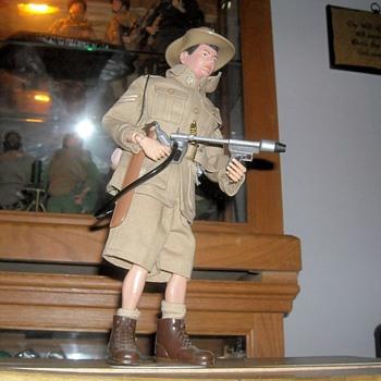 1966 GI Joe Soldiers of the World Austrailian Jungle Fighter  - Toys