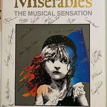 "Texas Estate Find ""les Miserables"" Cast Autograph Poster - Posters and Prints"