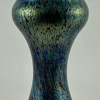 """Loetz Rubin Papillon vase, PN I-7580/8"""", ca. 1898 - Art Glass"""