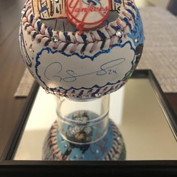 Gary Sanchez Autographed Fazzino Baseball - Baseball