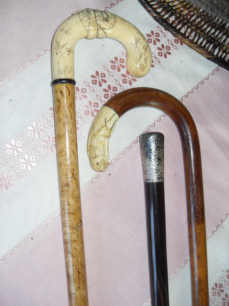 Antique ivorysilver walking canes collectors weekly biocorpaavc Image collections