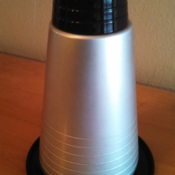 """Art Deco """"Hollywood Set"""" Thermos Carafes (His and Hers)"""