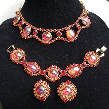 Rhinestone Set - Costume Jewelry