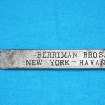 Berriman Bros. New York - Havana - High Grade Havana Cigars - Tobacciana