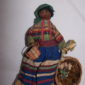 Vintage Seminole Indian Doll?