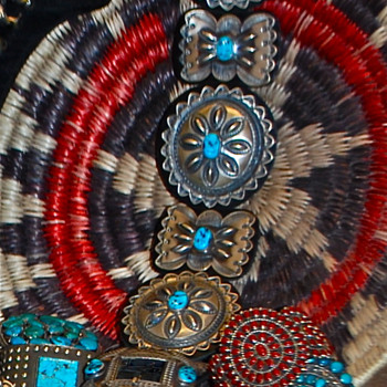Native American Concho Belt