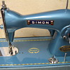 My Vintage Simon Portable Sewing Machine